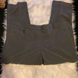 Size 16 gray pants by Anne Klein